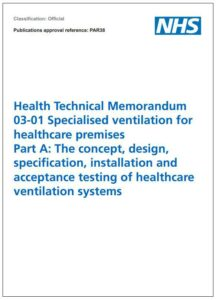 Health Technical Memorandum 03-01